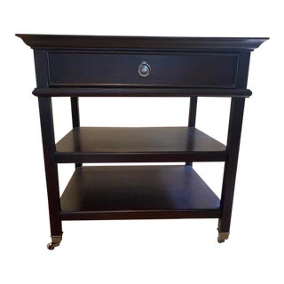 Barbara Barry-Inspired Three-Tiered Side Table For Sale
