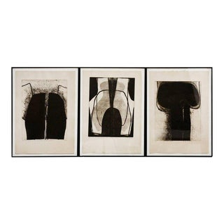 Neo-Figurative Abstract Prints by Florencia De Amesti- Set of 3