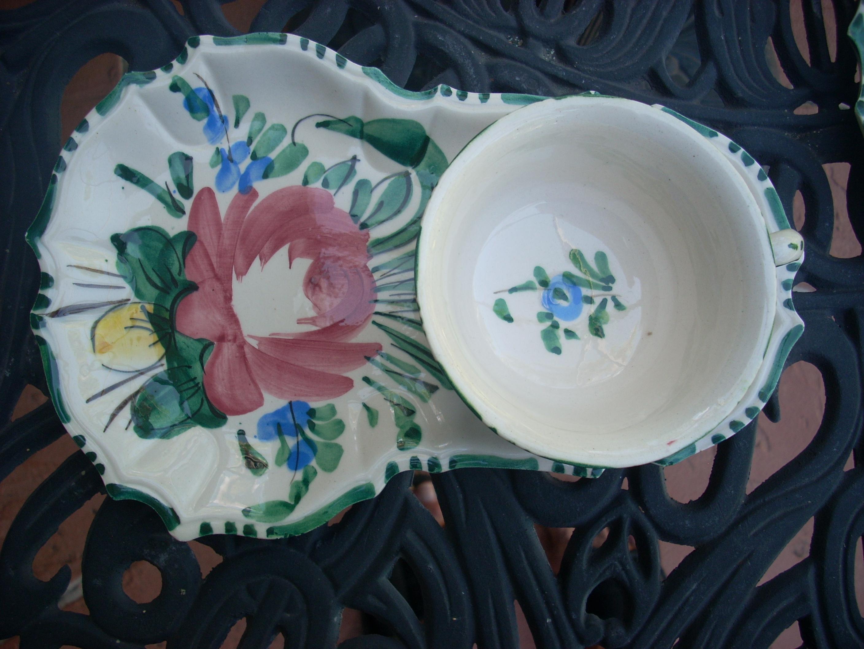 Vintage Italian Ceramic Dinnerware - Service for 6 - Image 4 of 8  sc 1 st  Chairish & Vintage Italian Ceramic Dinnerware - Service for 6 | Chairish