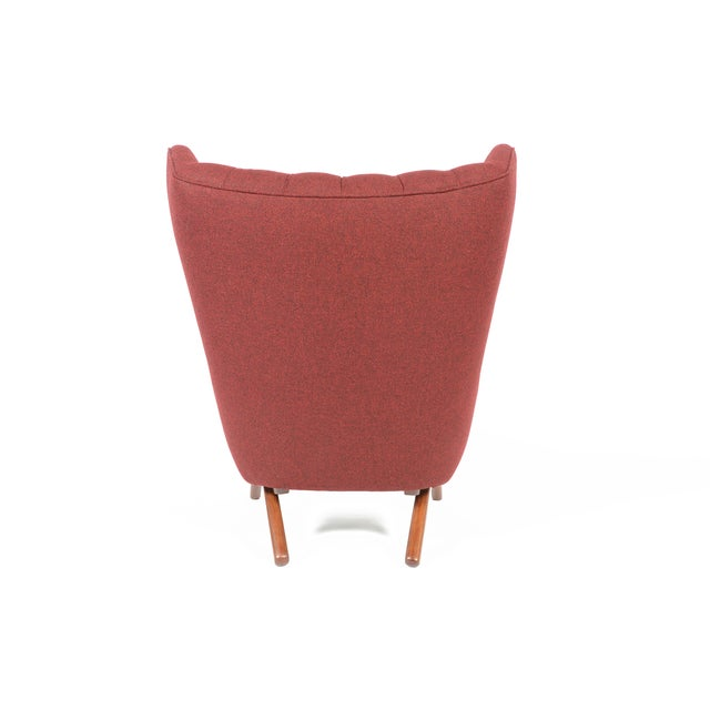 Svend Skipper Model 91 Burgundy Lounge Chair For Sale - Image 5 of 10