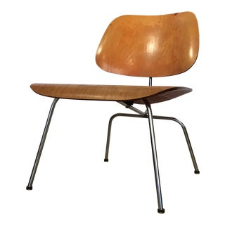 1950s Vintage Early Eames Lcm Lounge Chair For Sale