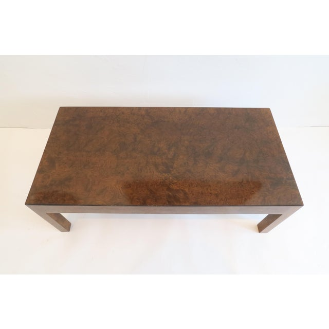 Vintage Burlwood Coffee Table - Image 3 of 6