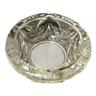 Heavy Crystal Cigar Ashtray