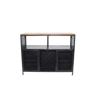 Transitional Adela Storage Kitchen Cabinet For Sale