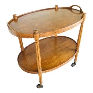 Vintage Drexel Heritage Bar Cart