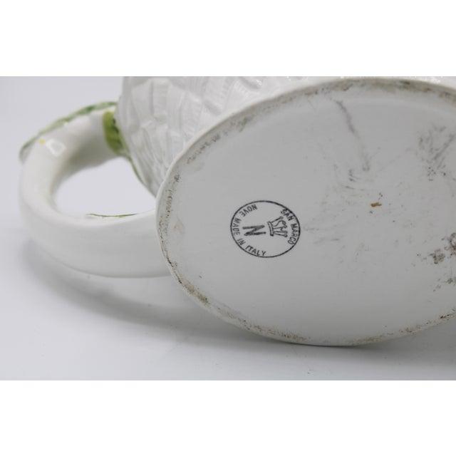 Vintage Italian Ceramic Fruit Teapot For Sale - Image 9 of 13