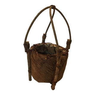 Coconut Husk Basket For Sale