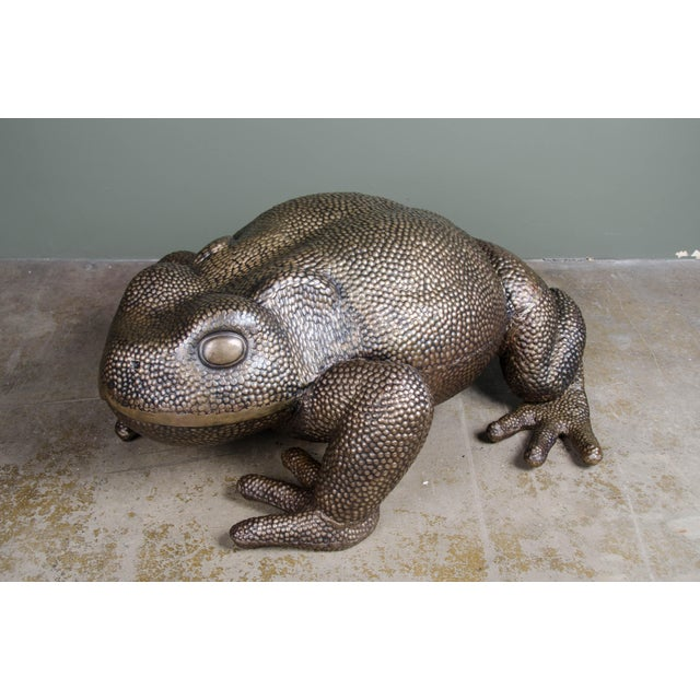 Contemporary Toad Sculpture For Sale - Image 3 of 6