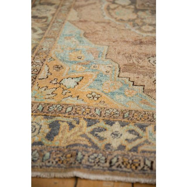 "1950s Vintage Distressed Oushak Carpet - 5'6"" X 8'6"" For Sale - Image 5 of 13"