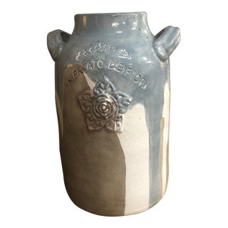 French New Decorator Terra Cotta Vase For Sale