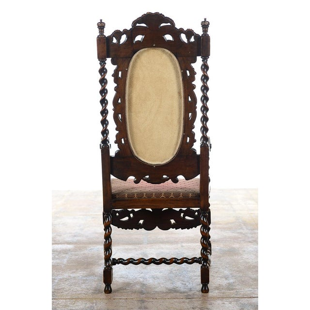 English Renaissance Dining Chairs - Set of 12 - Image 4 of 11