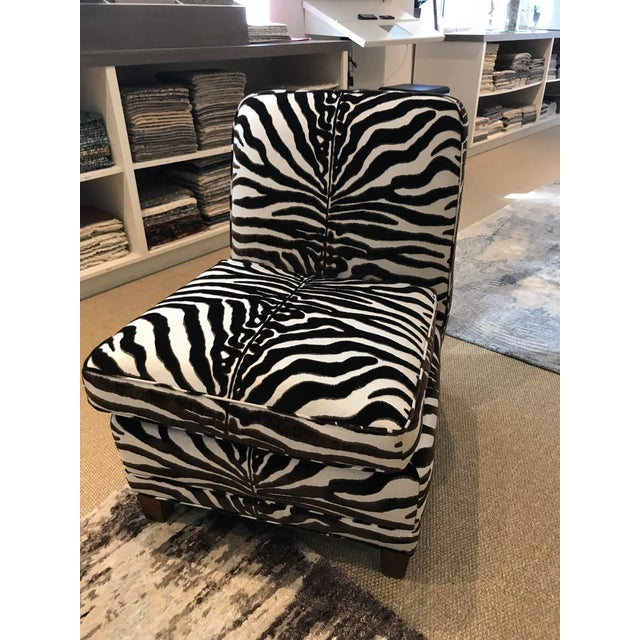 2010s Modern Scalamandre El Morocco Chair For Sale - Image 5 of 5