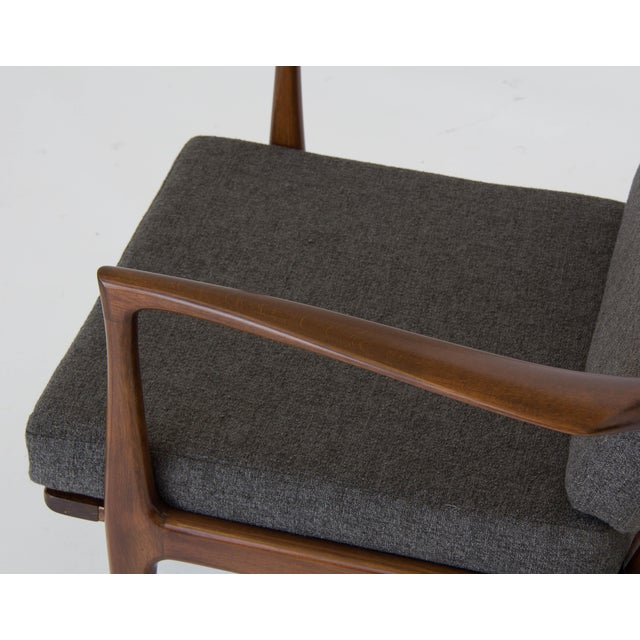 Ib Kofod-Larsen for Selig Lounge Chair For Sale - Image 11 of 11