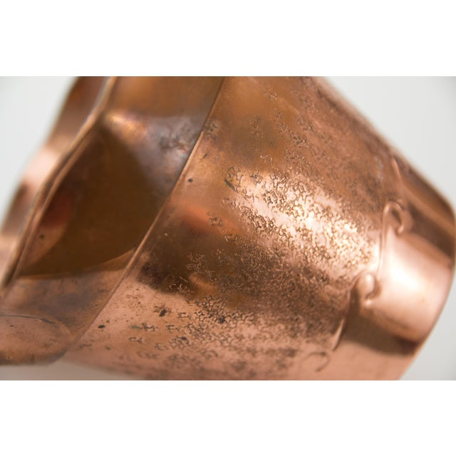 French Copper Planter For Sale - Image 4 of 7