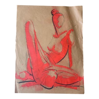 Figurative Greg Lauren Painting For Sale