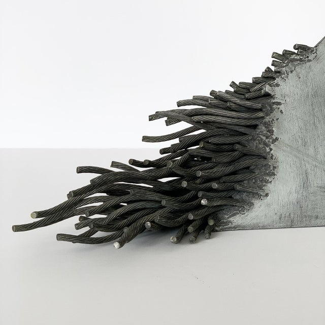 Gray Bella Feldman Abstract Sculpture, Out of Egypt For Sale - Image 8 of 12