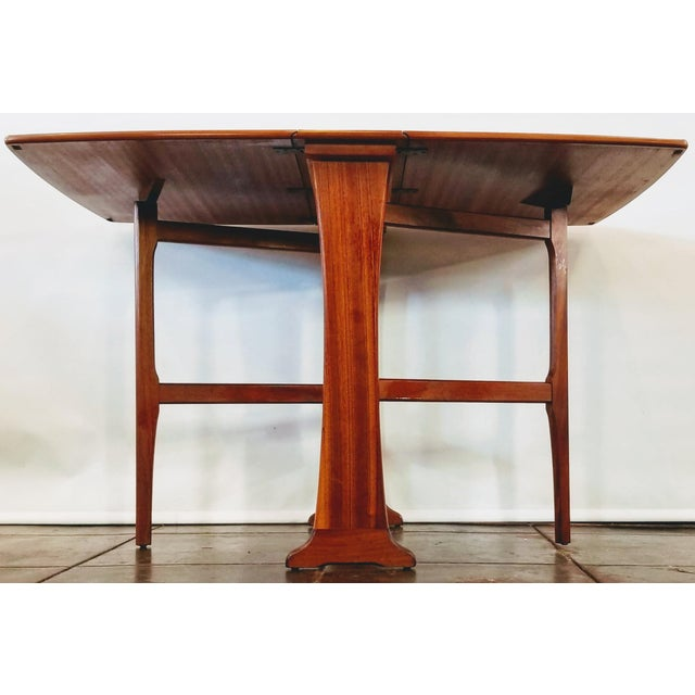 Mid-Century Modern Mid-Century Scottish Modern Style Drop Leaf Table by Legate Scotland For Sale - Image 3 of 11