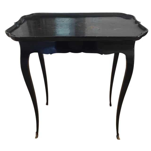 Antique Tray Table For Sale