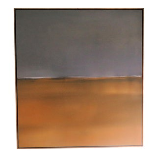 "1990s Luc Leestemaker Horizons ""3"" Abstract on Canvas Painting For Sale"