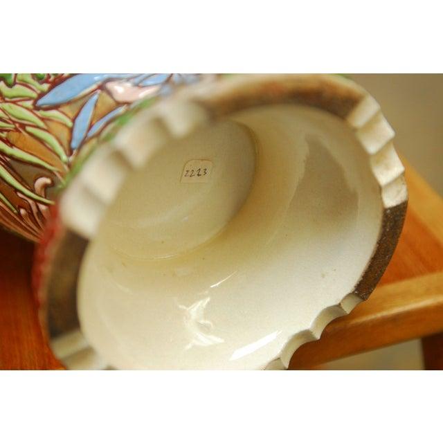 Vintage 1970 Japanese Satsuma Vase For Sale - Image 5 of 5