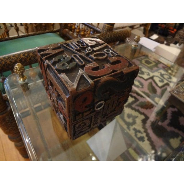 Mid Century Modern Alpha Cube Sculpture by Sheldon Rose For Sale - Image 11 of 13