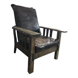 Arts & Crafts Reclining Morris Chair