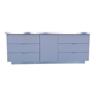 Modern Bedroom Dresser- Retro 80s Style For Sale