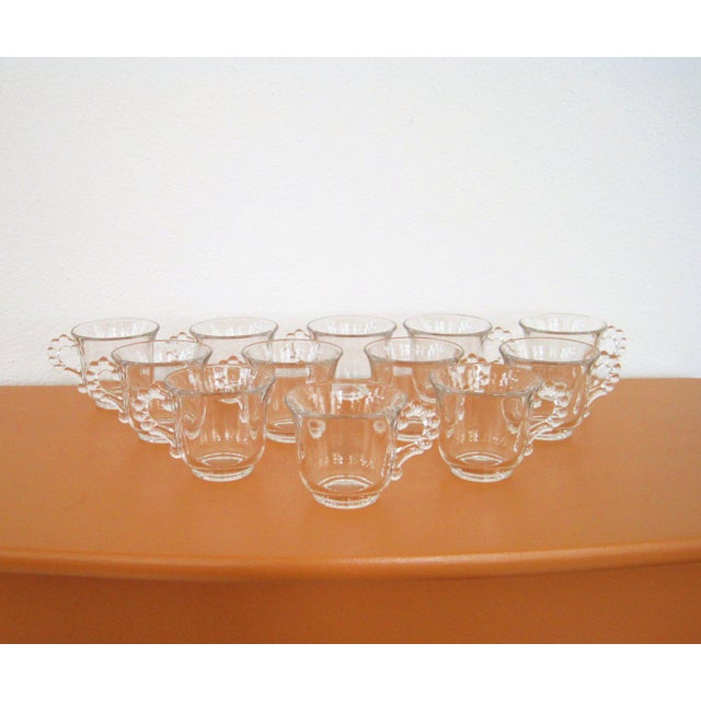 Vintage Imperial Candlewick Punch Bowl Set With Cups - Set of 14 For Sale - Image 4 of 6