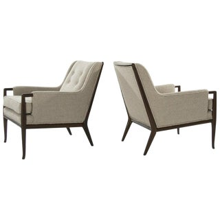 T.H. Robjohn-Gibbings for Widdicomb Walnut Lounge Chairs, Circa 1950s - a Pair For Sale