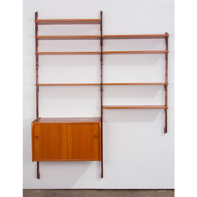 Danish Modern Ergo Wall Unit for Blindheim Møbelfabrik For Sale - Image 3 of 10