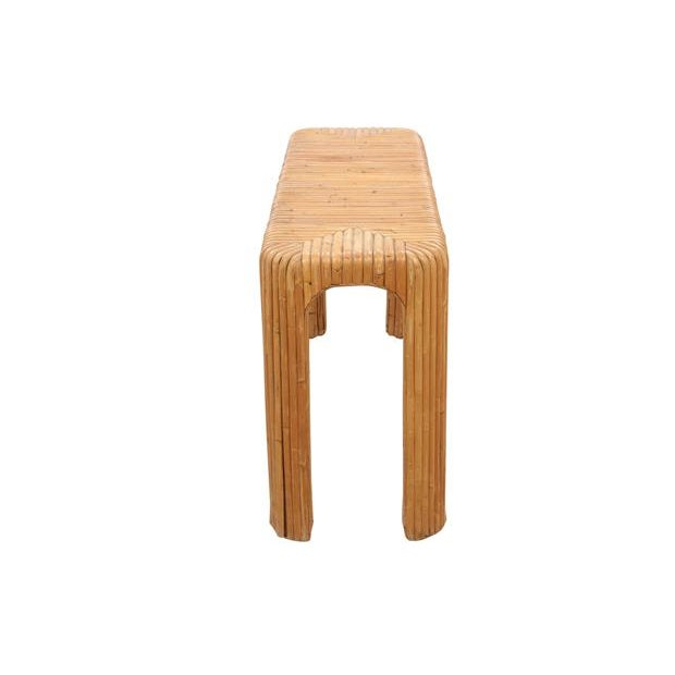 Bamboo Hall Table - Image 3 of 5
