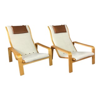 Ilmari Lappalainen Pulkka Lounge Chair for Asko Finland, 1960s For Sale