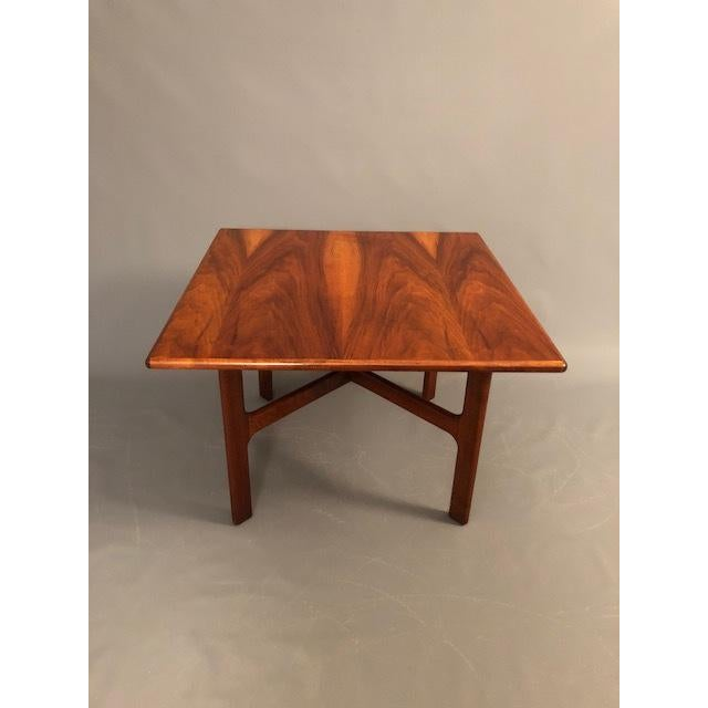 1960s D.Mcguire Mid-Century Walnut Coffee Table For Sale - Image 5 of 8
