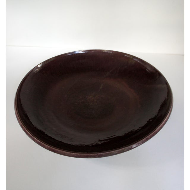 1980s 1980s Vintage Lively Earth Decorative Platter For Sale - Image 5 of 11
