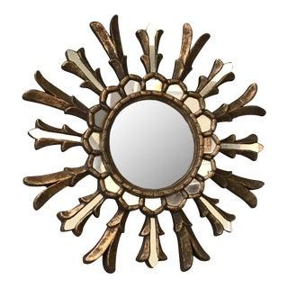 Antique Sunburst Mirror