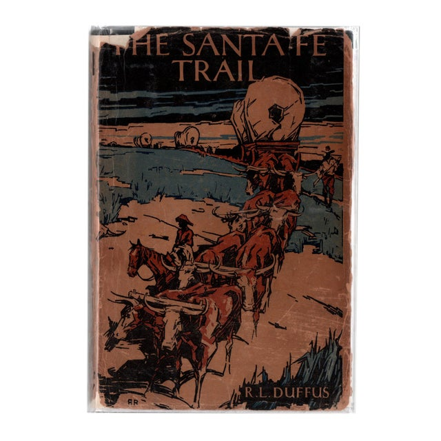 """1931 """"The Santa Fe Trail"""" Collectible Book For Sale In Atlanta - Image 6 of 6"""