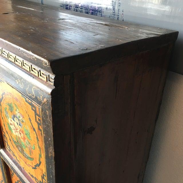 Tibetan Handpainted Cabinet - Image 11 of 11