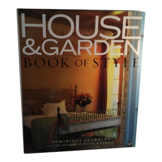 House & Garden Book of Style For Sale