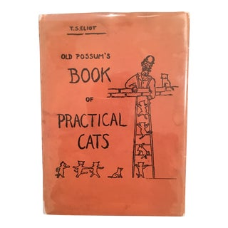 Old Possum's Book of Practical Cats, by T.S. Eliot, 1st Edition, 1939 For Sale