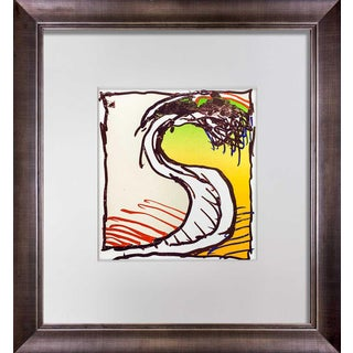Pierre Alechinsky Original Lithograph Ltd 1981 with Frame For Sale