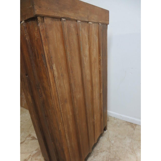 Antique Primitive China Cabinet Cupboard - Image 8 of 8