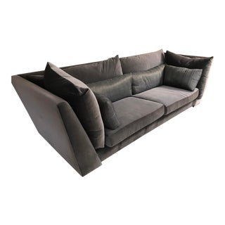 Verellien Silk & Mohair Sofa For Sale