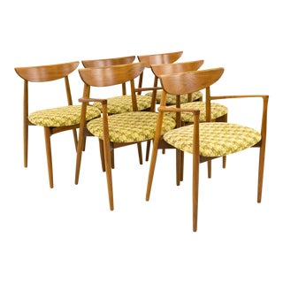 Vintage Mid Century Harry Ostergaard by Randers Mobelfabrik for Moreddi Dining Chairs - Set of 6 For Sale