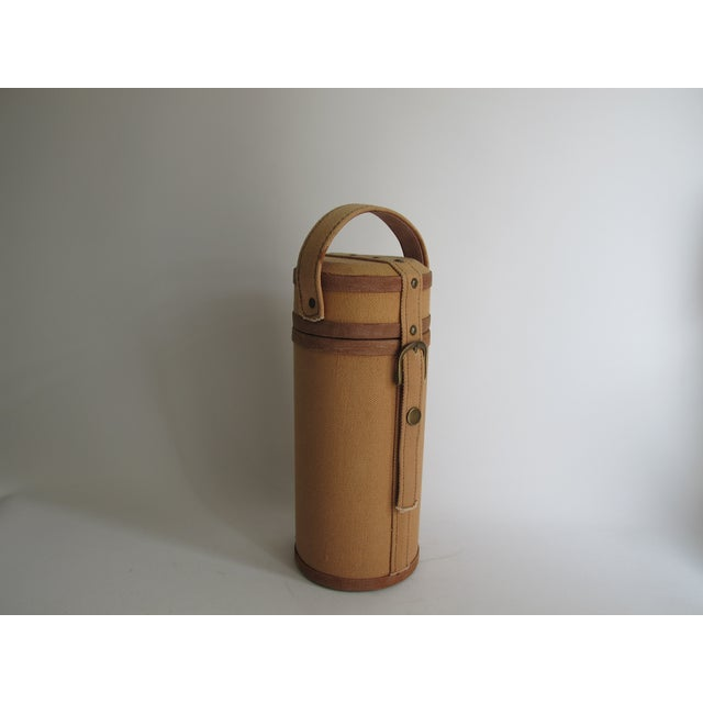 Tweed And Suede Wine Carrier - Image 6 of 8
