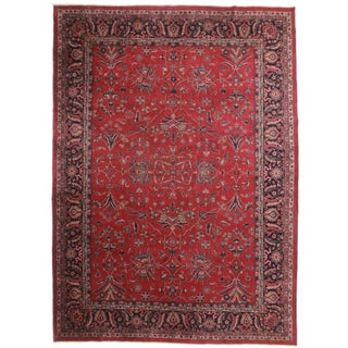 RugsinDallas Hand-Knotted Turkish Sparta Rug- 9′9″ × 13′6″ For Sale