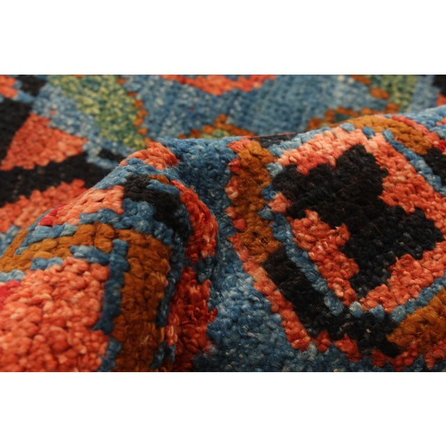 Textile Boho Chic Hand-Knotted Rug For Sale - Image 7 of 9