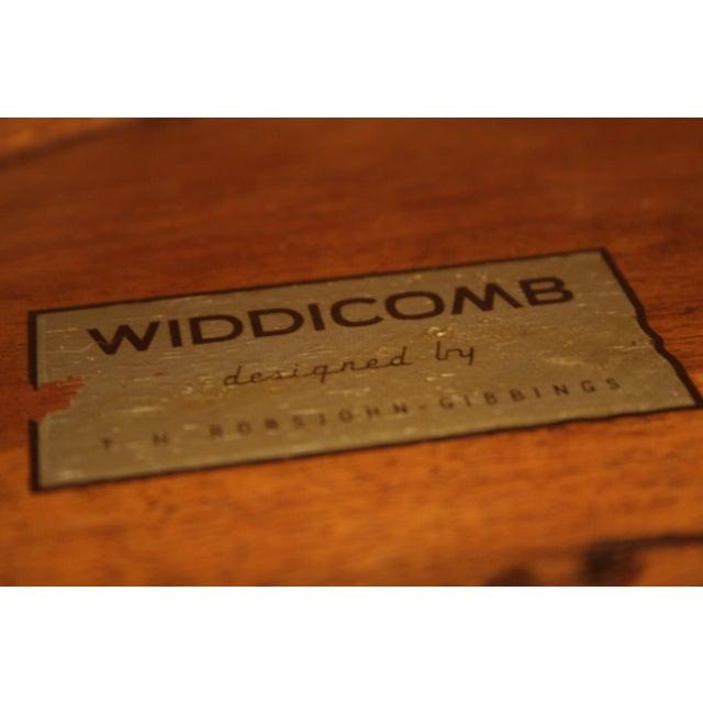Brown Klismos Sabre Leg Table by T. H. Robsjohn Gibbings for Widdicomb For Sale - Image 8 of 13