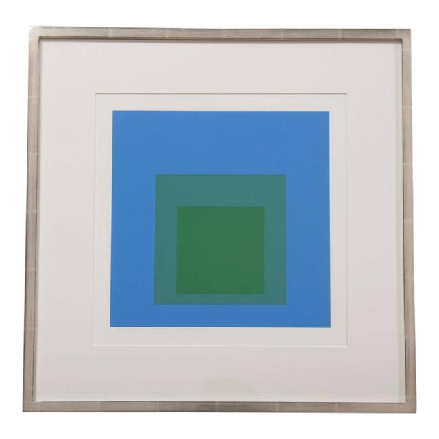 """Josef Albers """"Homage to the Square"""" For Sale"""