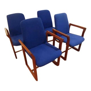 Mid Century Dining Chairs- Set of 4 For Sale