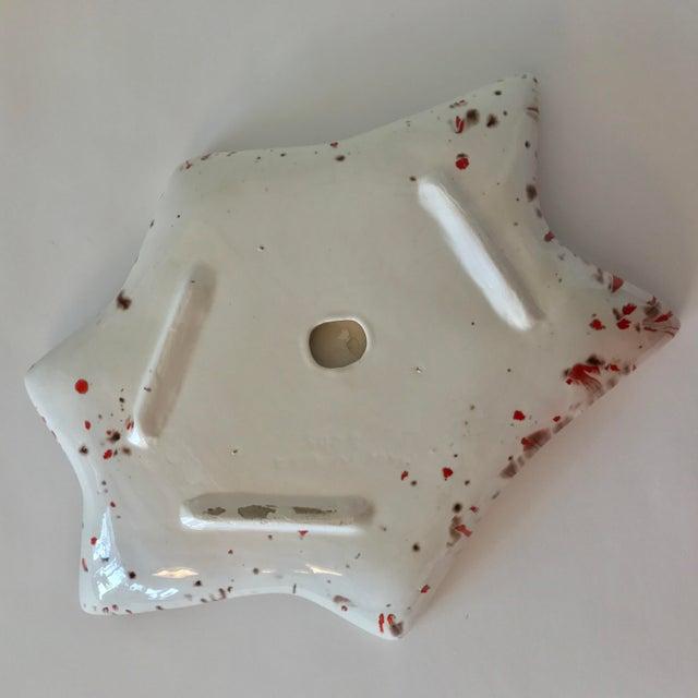 Mid-Century Ceramic Star Ashtray - Image 6 of 7